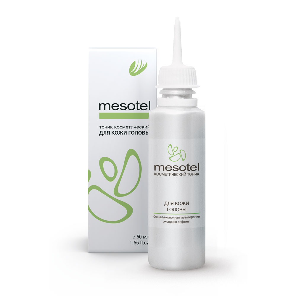 MESOTEL for hair and scalp 50 ml 1.66 fl.oz.