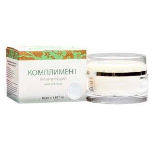 Compliment Regenerating - Face Cream Regenerating with Peptides Thymus