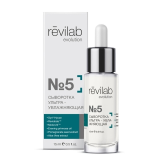 Revilab evolution №5  Ultra-moisturizing serum for the face, neck and decollete
