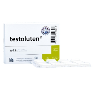Testoluten 20 bioregulator male body