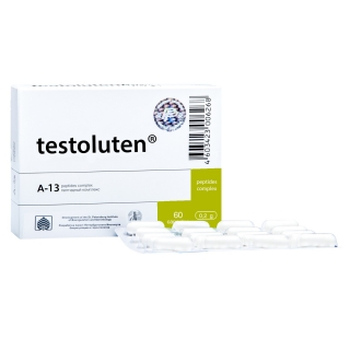 Testoluten 60 bioregulator male body