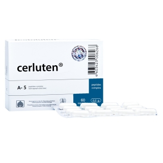 Cerluten 60 brain and CNS